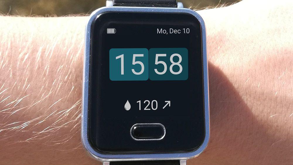 K'Watch Glucose, el primer reloj inteligente para medir la glucosa