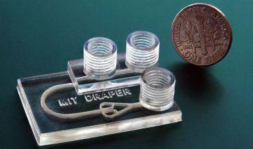 Imagen del dispositivo en 3D creado por el MIT