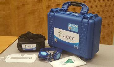 Kit de realidad virtual presentado por la AECC