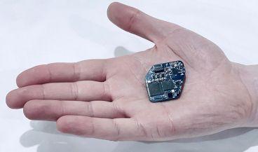 El chip WAND está diseñado con circuitos integrados personalizados (Rikky Muller, UC Berkeley).