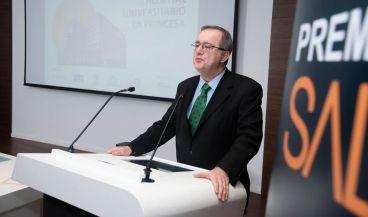 El director gerente del Hospital La Princesa, Fidel Illana Robles, durante su intervención en los III Premios SaluDigital.
