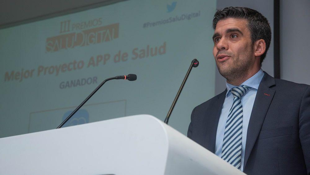 Miguel Sánchez Pecharromán, cofundador de FirstCall, proyecto ganador de la categoría App de Salud