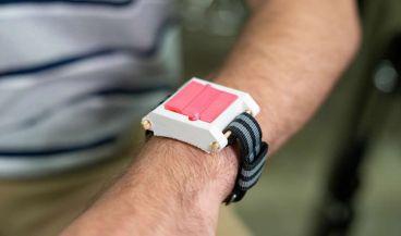 Inyector de de epinefrina portátil para detener reacciones alérgicas