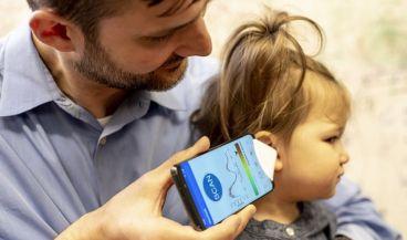 Una app para el móvil capaz de detectar las infecciones de oído en niños gracias al micrófono