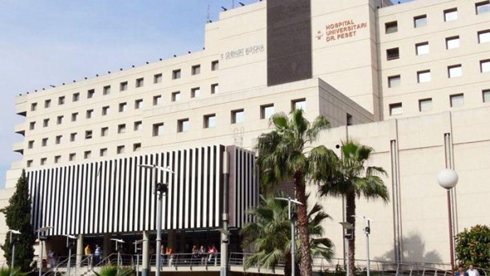 Fachada del Hospital Universitario Doctor Peset de Valencia