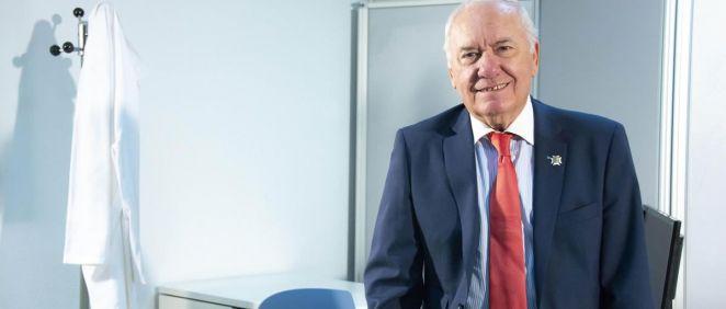 El presidente del Consejo General de Enfermería (CGE), Florentino Pérez Raya