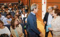 María Luisa Real ha clausurado el ciclo de jornadas sobre estrategias para la prevención y control de las infecciones, que ha contado con la asistencia de más de un centenar de profesionales del SCS