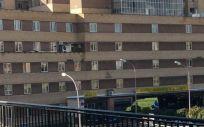 Fachada del Hospital de Salamanca