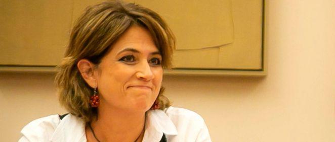 Dolores Delgado, ministra de Justicia en funciones.