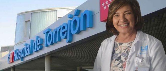 La directora gerente del Hospital Universitario de Torrejón, Cristina Granados