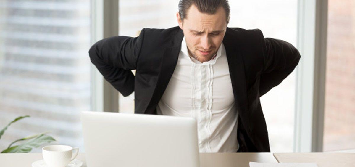 El dolor de espalda sigue siendo la mayor de las dolencias, lo ha experimentado un 69%, seguido de dolores en el cuello y zona cervical