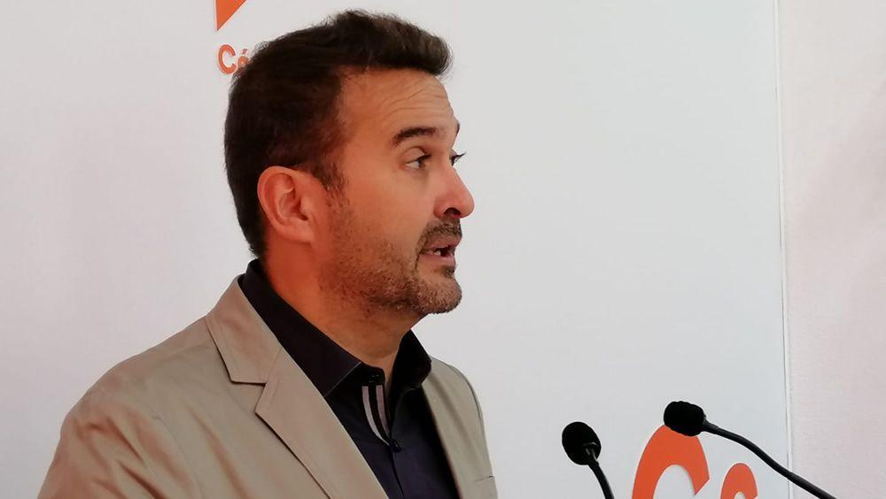 Marcial Gómez Balsera, diputado del Grupo Parlamentario Ciudadanos