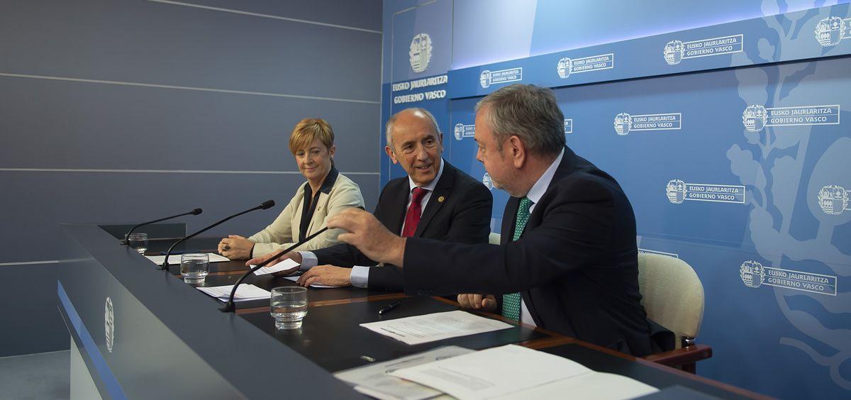 Rueda de prensa posterior al Consejo de Gobierno del País Vasco