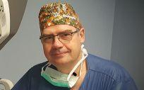El doctor Raimundo Gutiérrez, coordinador de la Unidad de Disfagia del Hospital Universitario Rey Juan Carlos