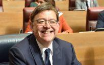 Ximo Puig, reelegido presidente de la Comunidad Valenciana.