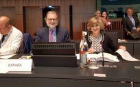 La Ministra de Sanidad en funciones, María Luisa Cardeco, está en Luxemburgo  en el Consejo Europeo de Empleo, Política Social, Salud y Consumo