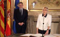 Ana Barceló, consejera de Sanidad de la Comunidad Valenciana en funciones, durante su toma de posesión en la pasada legislatura