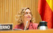 La ministra de Política Territorial y Función Pública en funciones, Meritxell Batet, que en esta legislatura ha pasado a ser la presidenta del Congreso de los Diputados.