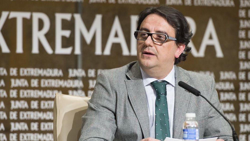 José María Vergeles, consejero de Sanidad de la Junta de Extremadura (Foto: Junta de Extremadura)
