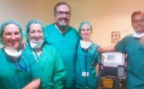 Servicio de Neumología del Hospital Gregorio Marañón