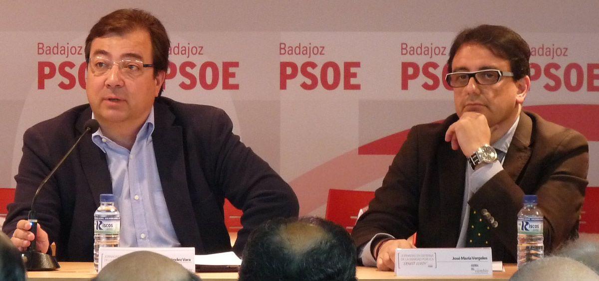 Fernández Vara ha definido a Vergeles en alguna ocasión como el mejor consejero de Sanidad