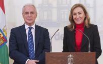José Ignacio Ceniceros y María Martín están viviendo sus últimos días en el Gobierno de La Rioja