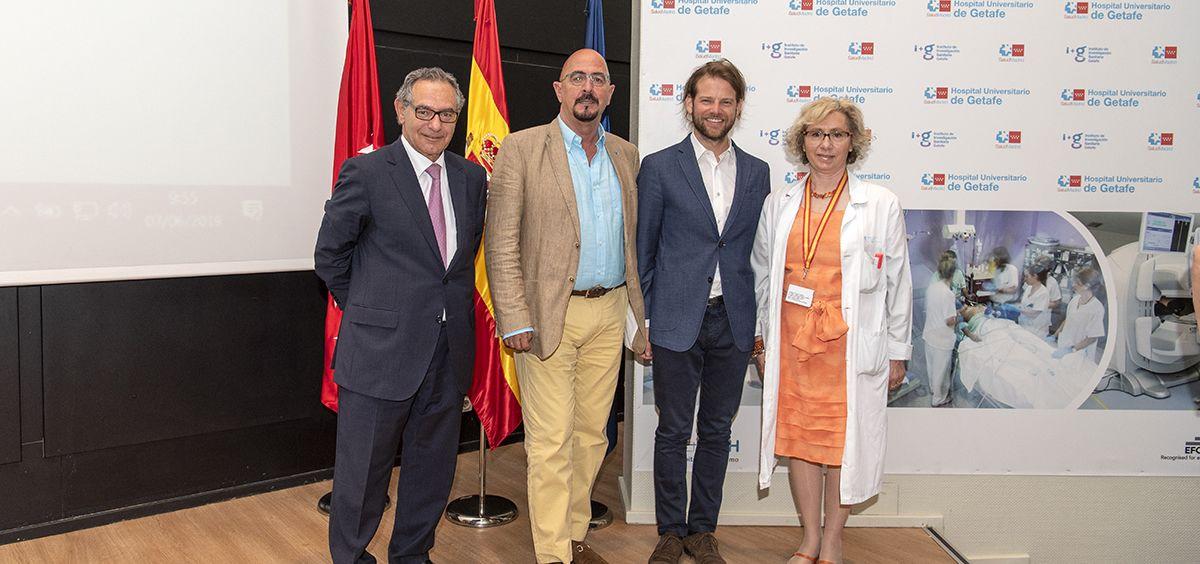 Sesión sobre Inteligencia Artificial en Hospital de Getafe