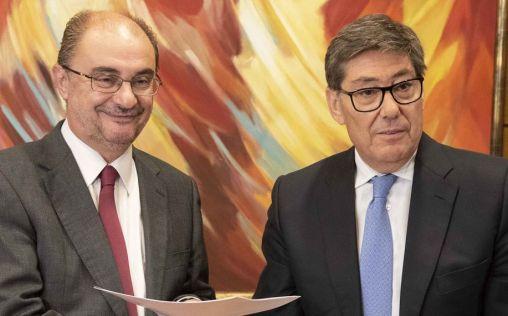 Los regionalistas de Aragón, claves para el futuro de la sanidad de Lambán