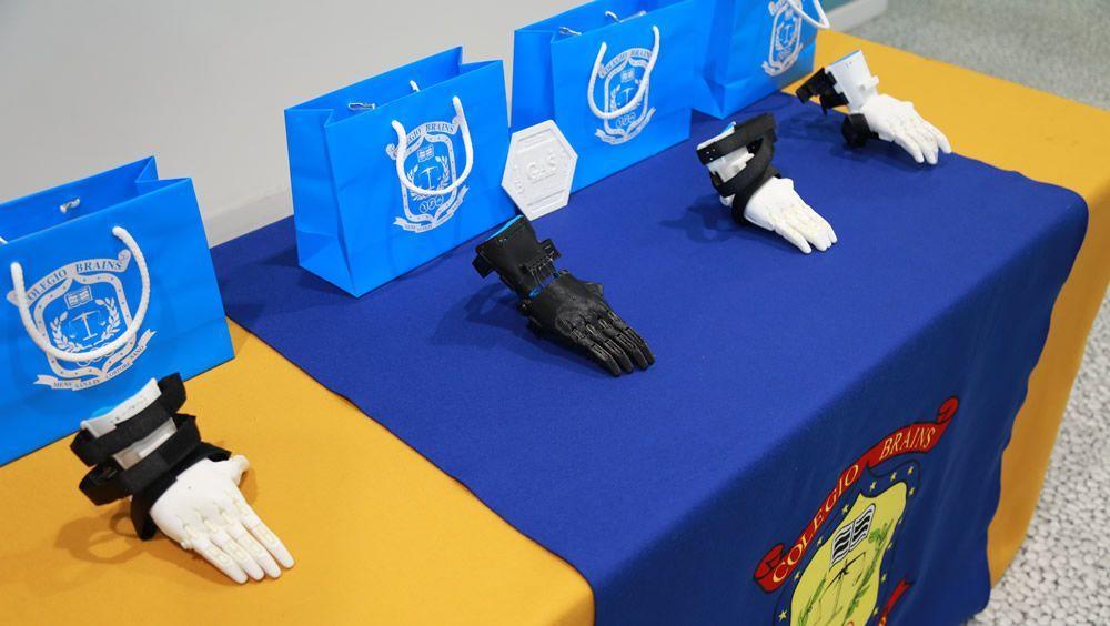 Un proyecto piloto para imprimir en 3D prótesis de brazo