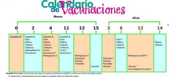 Calendario De Vacunacion 2020.Aragon Lanza Su Nuevo Calendario De Vacunaciones