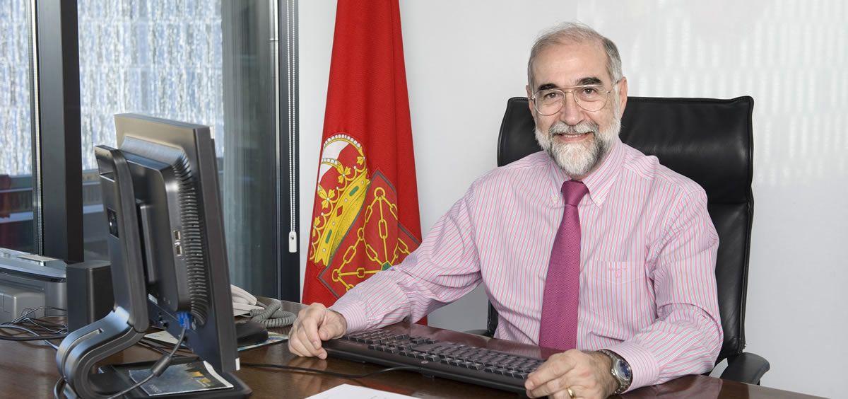 Fernando Domínguez, exconsejero de Sanidad de la Comunidad Foral de Navarra.