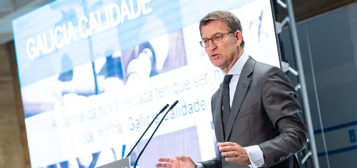 El presidente del Gobierno gallego, Alberto Núñez Feijóo. / Imagen: Xunta de Galicia