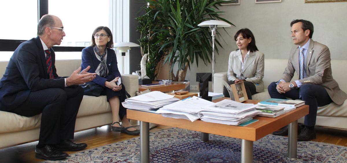 El consejero de Sanidad de Galicia en reunión con la Aecosan y la directora general de Salud Pública (Xunta de Galicia)