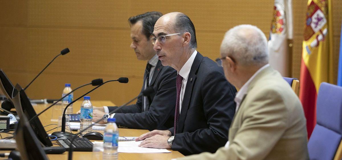 El consejero de Sanidad, Jesús Vázquez Almuiña. / Foto: Xunta de Galicia