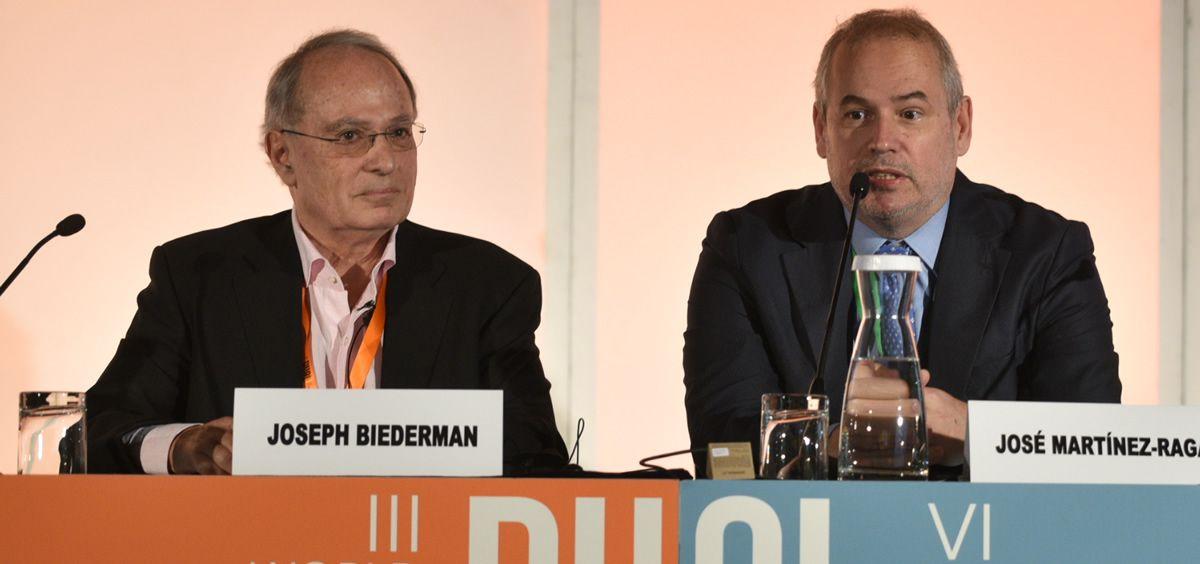 Los doctores Joseph Biederman y José Martinez Raga/ Foto: ConSalud.es