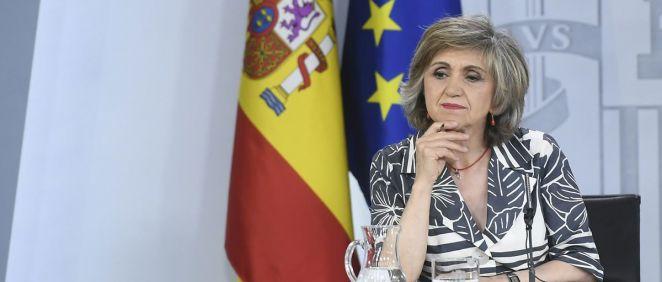 La ministra de Sanidad, Consumo y Bienestar Social, María Luisa Carcedo. / Foto: Pool Moncloa y Borja Puig de la Bellacasa