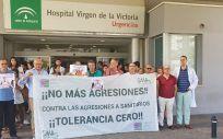Médicos del Hospital Universitario Virgen de la Victoria de Málaga (Foto de ConSalud)