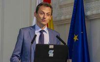 El ministro en funciones de Ciencia, Innovación y Universidades, Pedro Duque (Foto ConSalud)