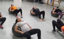 Mujeres embarazadas haciendo ejercicio físico/ Foto: UPM