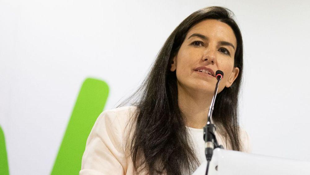Rocío Monasterio, presidenta de Vox en la Comunidad de Madrid. (Foto. Flickr VOX)