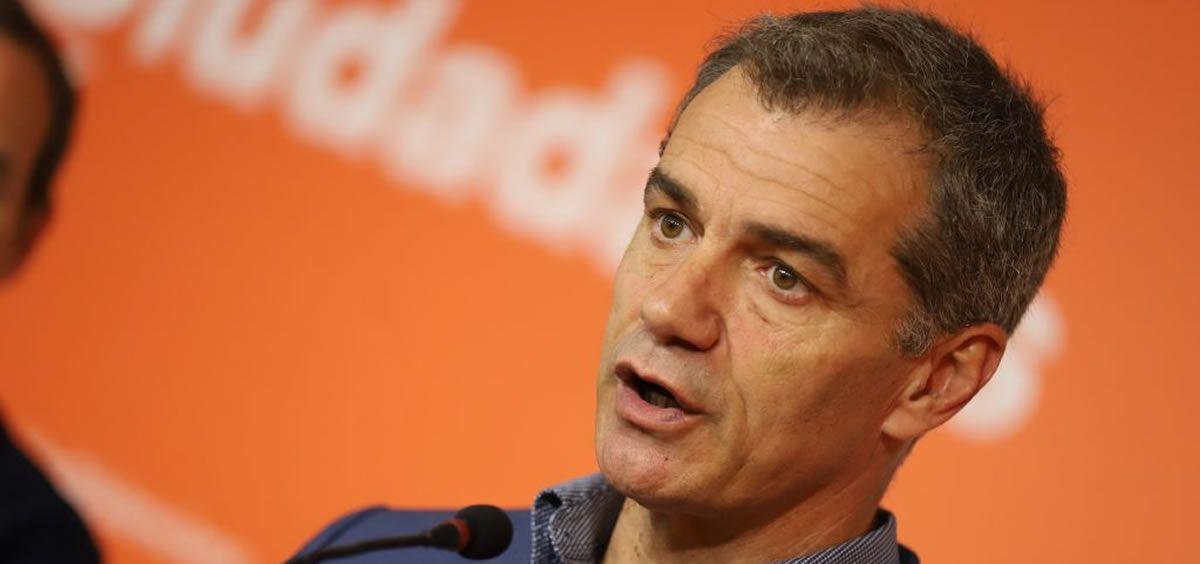 El líder de Ciudadanos (Cs) en la Comunidad Valenciana, Toni Cantó. / Foto: Ciudadanos