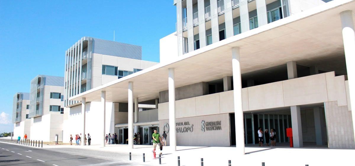 Fachada del Hospital del Vinalopó (Foto de ConSalud)