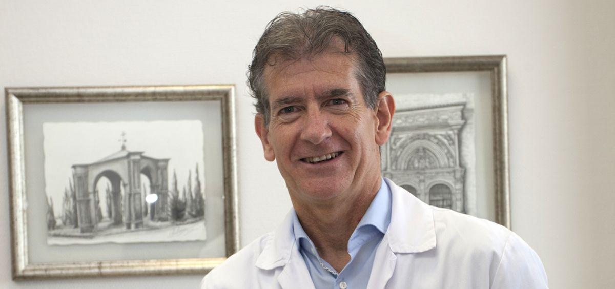 Carlos Ruiz, jefe de Neumología del Hospital San Pedro