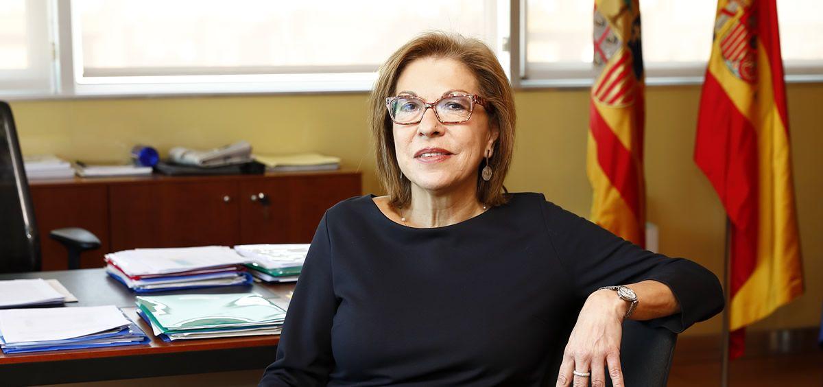 La consejera de Sanidad de Aragón, Pilar Ventura / Foto: Luis Correas (Anuario ECSalud)