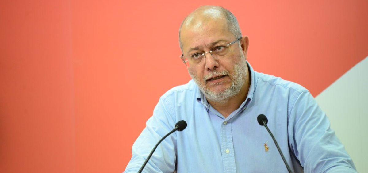 Francisco Igea, responsable del área de Sanidad de Ciudadanos / Foto: @CsCastillayLeon