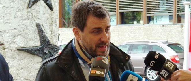 Antoni Comín, exconsejero de Salud de la Generalitat de Cataluña / Foto: @toni_comin