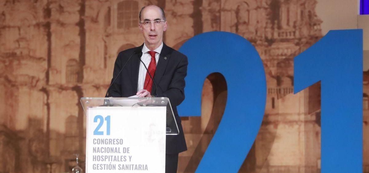 Jesús Vázquez Almuiña, consejero de Sanidad de la Xunta de Galicia / Foto: Consejería de Sanidad
