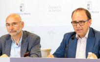 José Antonio Ballesteros y Manuel Tordera (Foto del Gobierno de Castilla La Mancha)