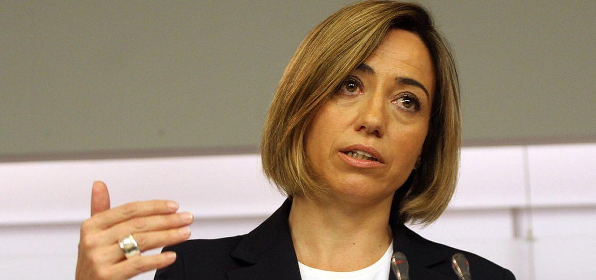 Carme Chacón, exministra de Defensa