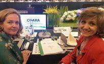 Nadia Calviño y María Luisa Carcedo, ministras de Economía y Sanidad en funciones / Foto: Ministerio de Sanidad